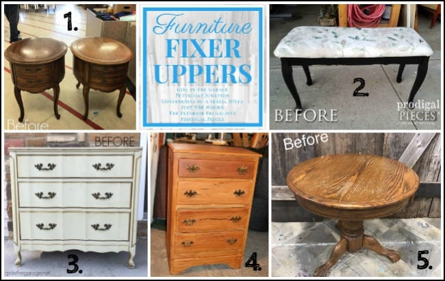 How to transfer images to furniture like a pro by just the Does the furniture stay on fixer upper