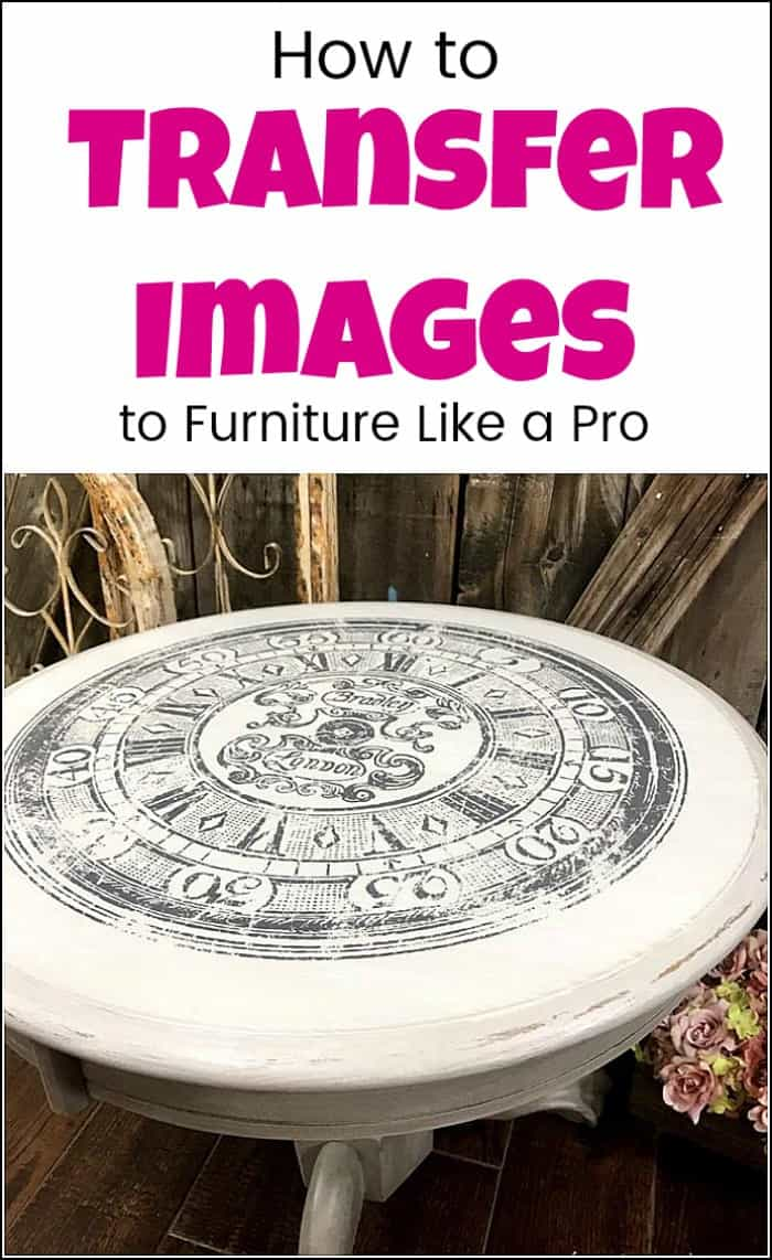 transfer images to wood, image transfer, how to transfer images to furniture, graphics transfer