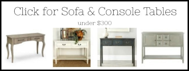 sofa tables for sale, console tables for sale, wayfair tables