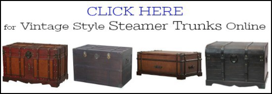 Steamer Trunks For Sale, Old Steamer Trunk For Sale, Steamer Trunk Coffee  Table For