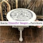 How to Transfer Images to Furniture Like a Pro