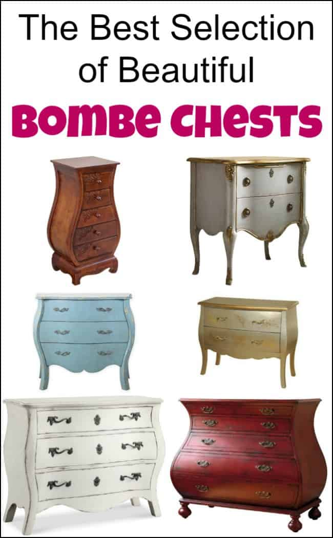 The Best Selection of Beautiful Bombe Chests, bombe dresser, bombe chests for sale