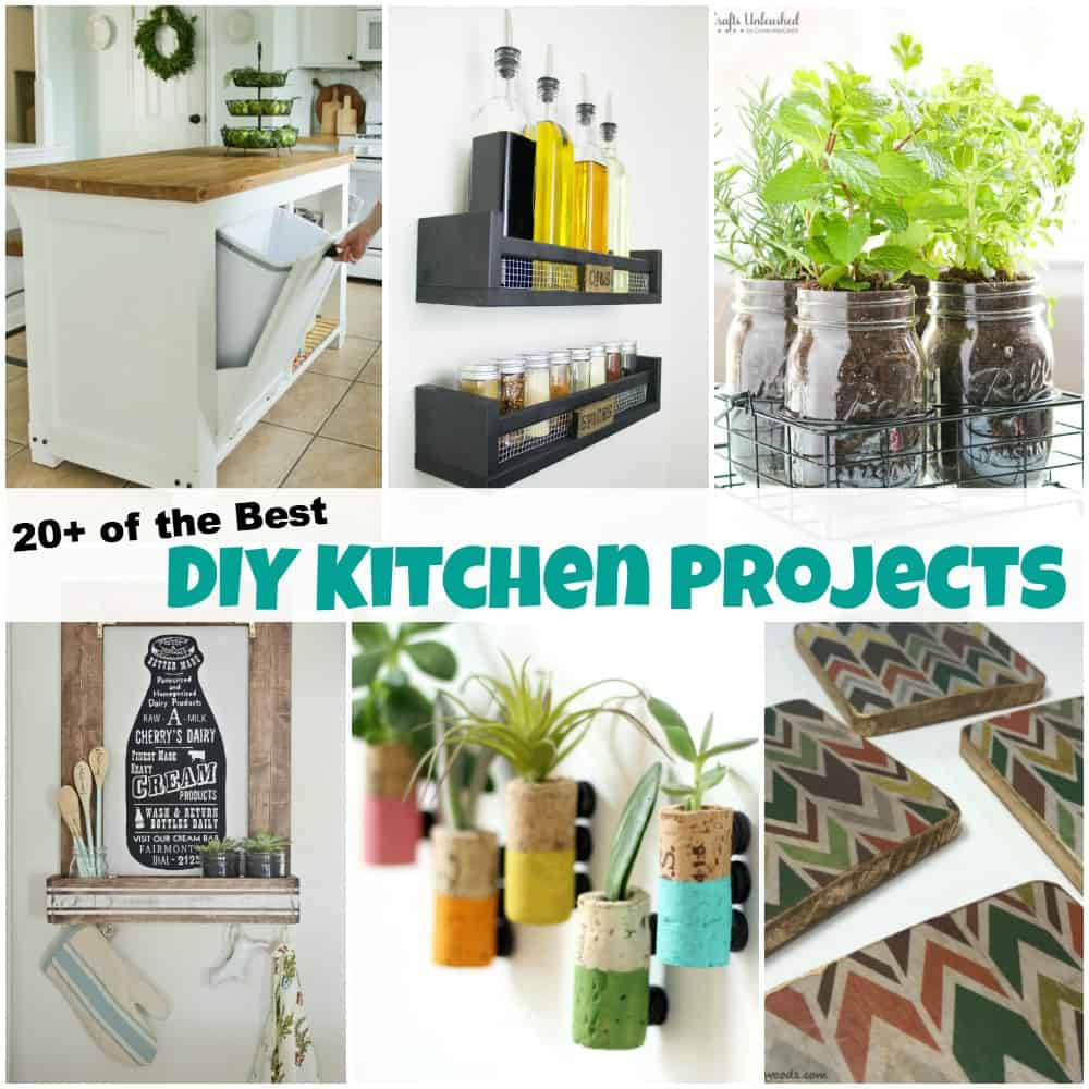 20+ Of The Best DIY Kitchen Projects To Spruce Up Your Home