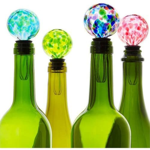 birthstone wine bottle stopper, wine lovers gifts, gift for wine lover