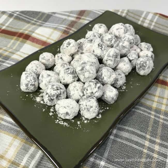 chocolate rum balls, chocolate truffles, rum ball recipe