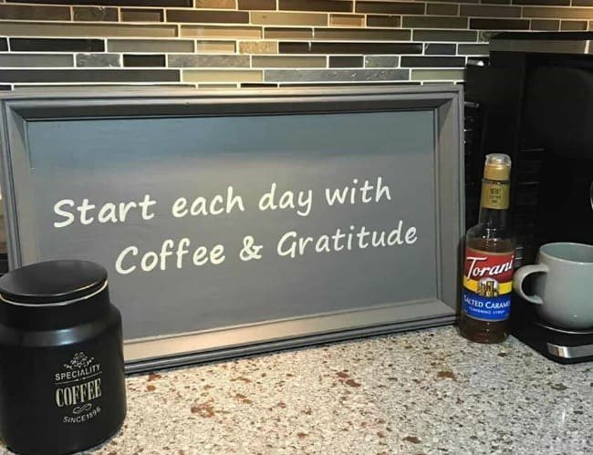 diy kitchen projects, diy kitchen project ideas, kitchen diy projects, diy coffee bar sign