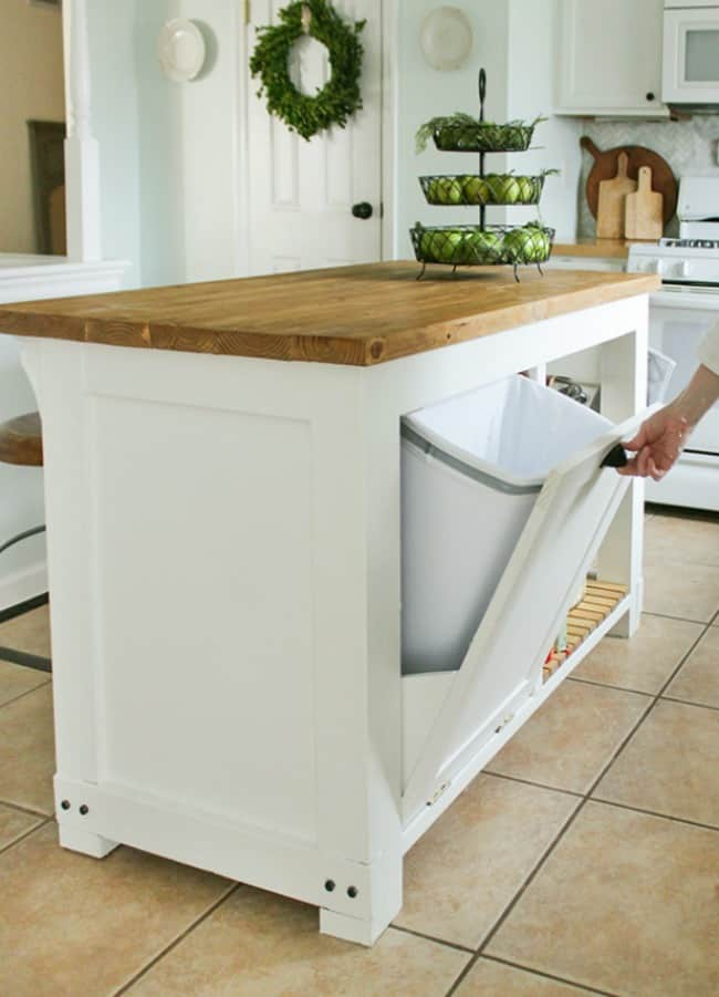 diy kitchen projects, diy kitchen island, build kitchen island, diy projects kitchen storage