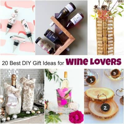 20 of the Best DIY Gift Ideas for Wine Lovers