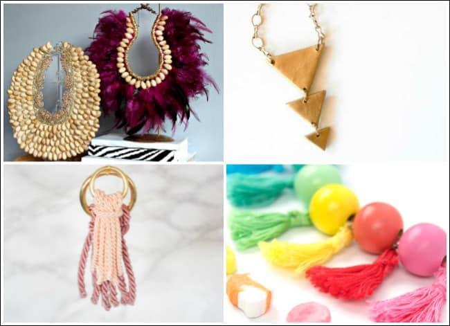 handmade jewelry, homemade jewelry, bead jewelry, easy handmade jewelry