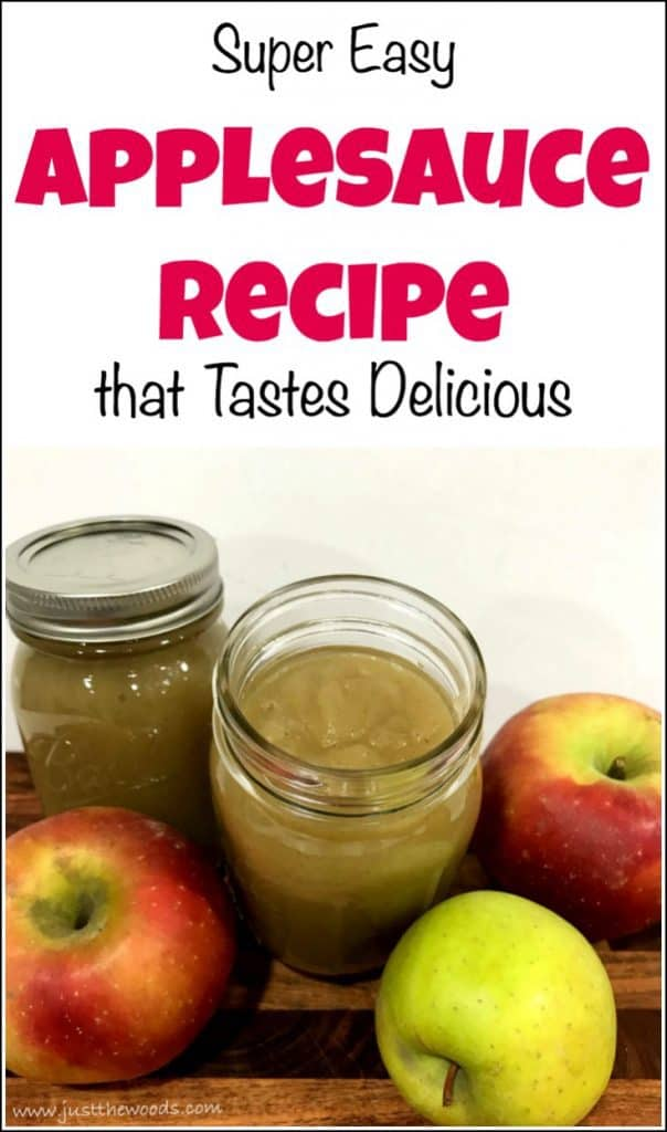 easy applesauce recipe, delicious natural applesauce, how to make applesauce