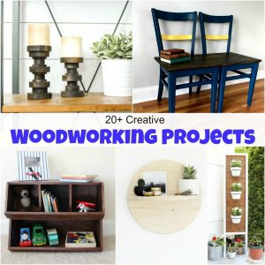 20+ Creative Beginner Woodworking Projects for the Serial DIYer