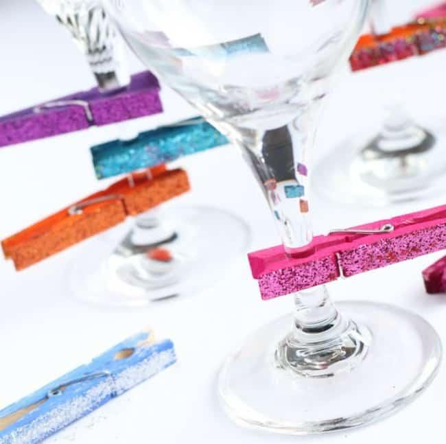 diy wine charms, wine gifts, wine charms,