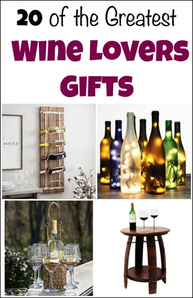 20 of the Greatest Wine Lovers Gifts