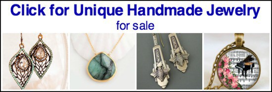 handmade jewelry for sale, unique jewelry for sale