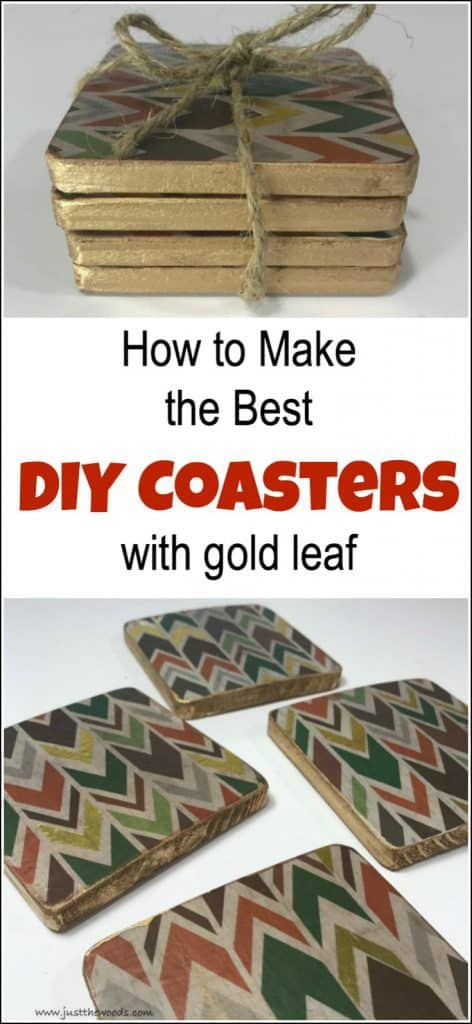 diy coasters, homemade coasters, easy coasters, how to make coasters, handmade coasters