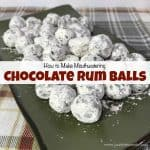 How to Make Mouthwatering Chocolate Rum Balls