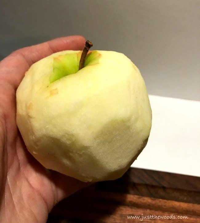 applesauce recipe, easy applesauce, peel apples, apple peel