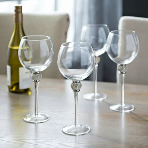 silver wine glasses, gift for wine lovers, wine lovers gifts