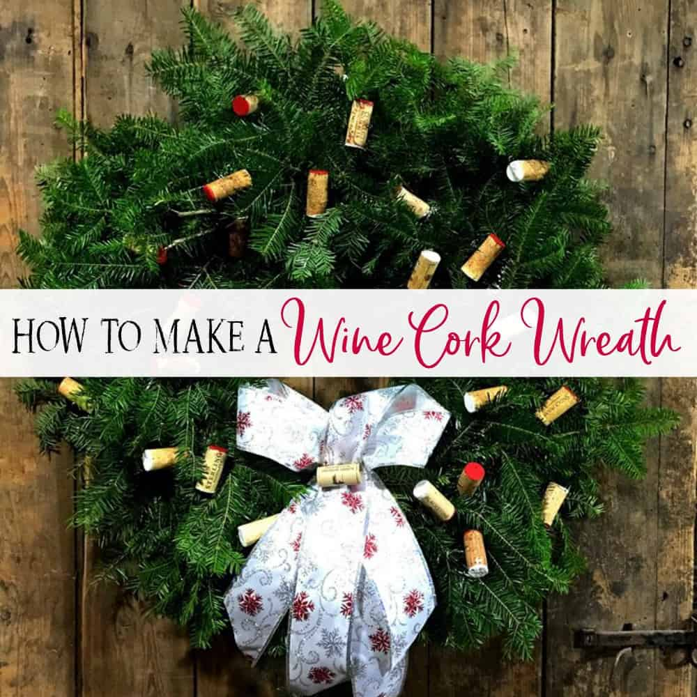 how to make an amazing wine cork wreath