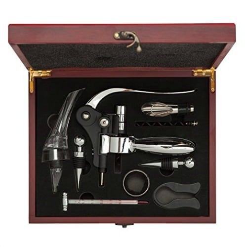 wine lovers gift, wine lover gift set, corkscrew gift set
