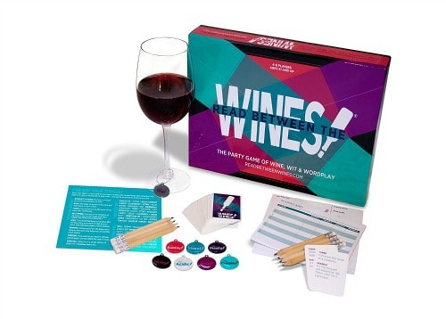 wine lover party game, wine lover board game, game for wine lovers