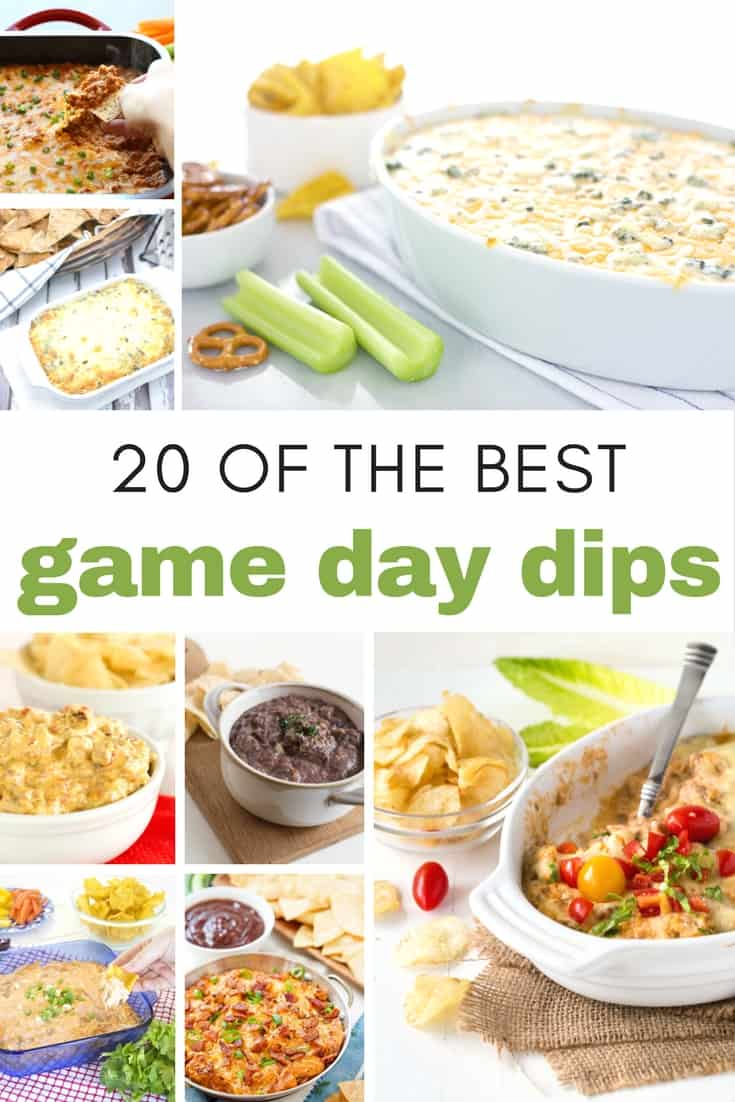 20 of the Best Game Day Dips for Your Next Super Bowl Party