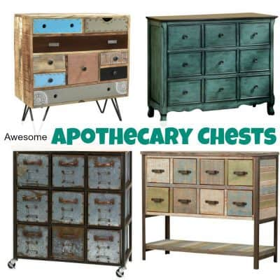An Amazing Selection of Awesome Apothecary Chests