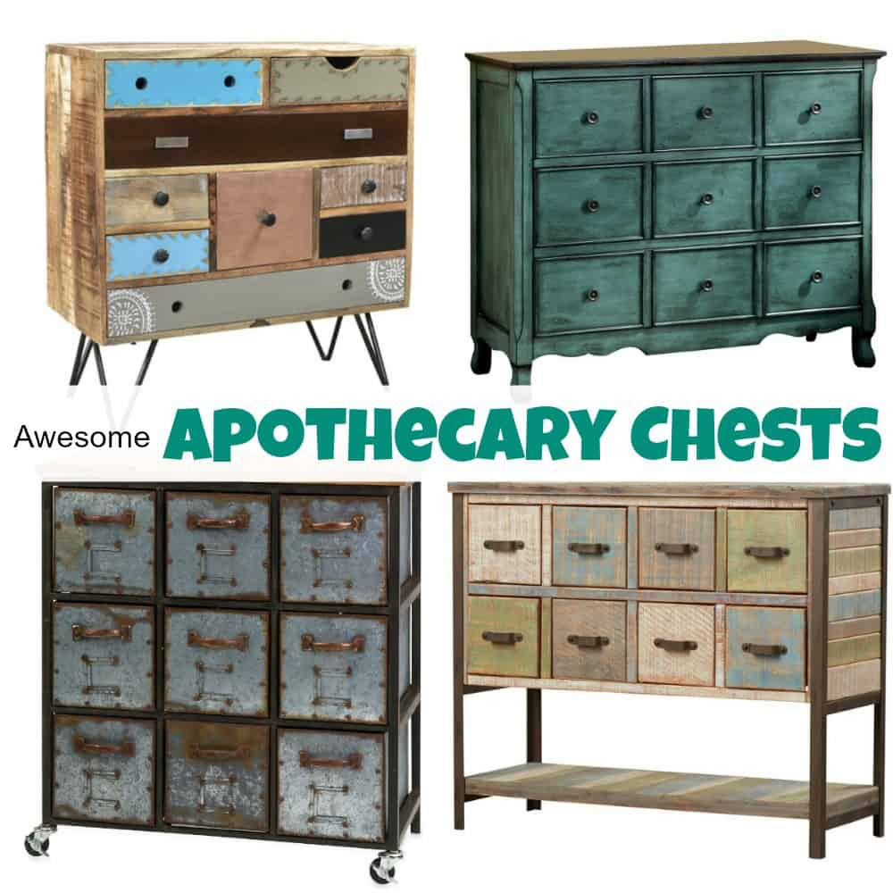 Awesome An Amazing Selection Of Awesome Apothecary Chests Interior Design Ideas Clesiryabchikinfo