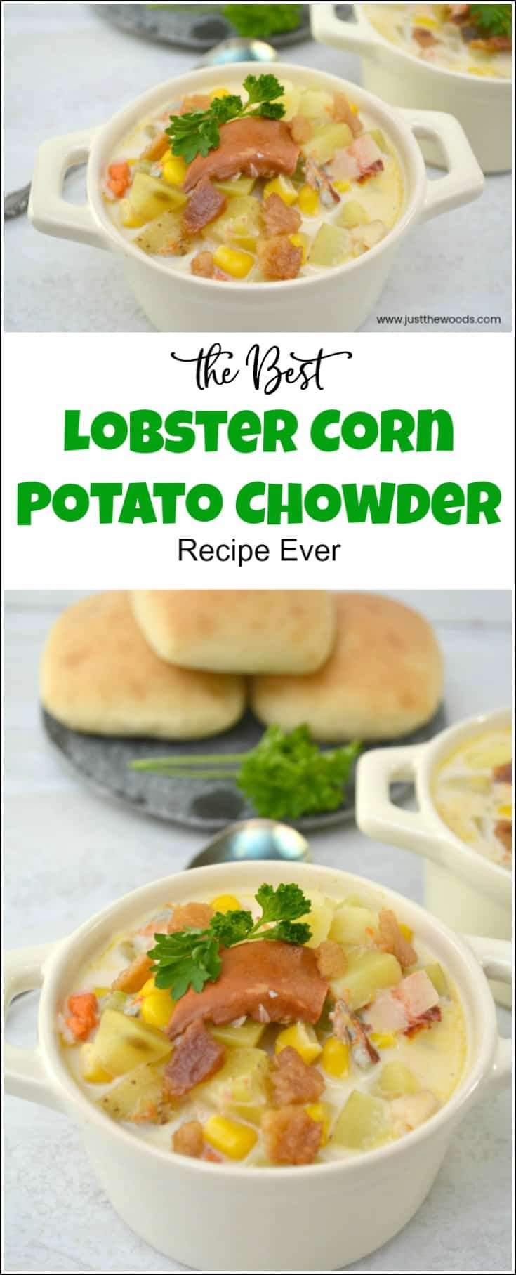 Lobster Corn Potato Chowder Recipe, how to make homemade chowder
