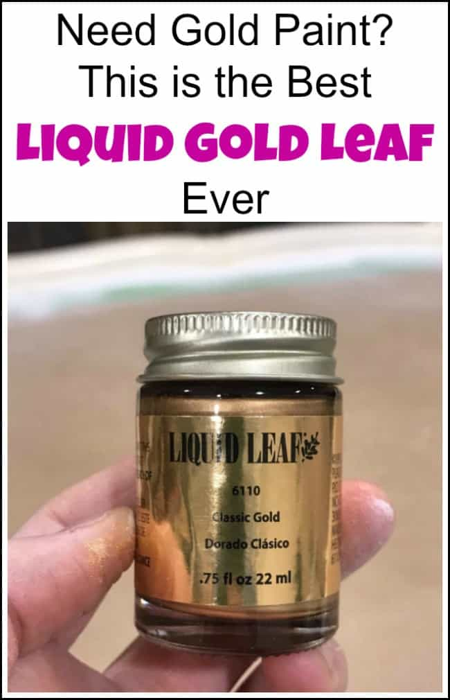 need gold paint this is the best liquid gold leaf ever