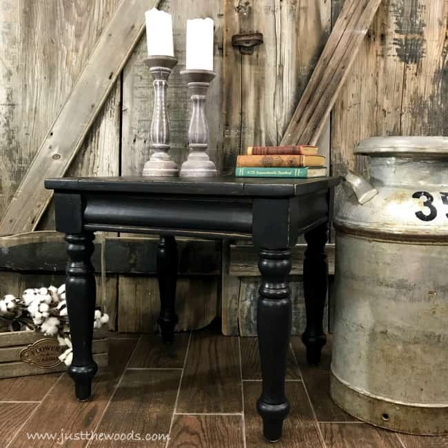 Black Distressed Furniture, Distressed Black Furniture, Painted Furniture,  Black Painted Furniture