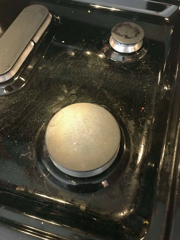 clean kitchen, how to clean the stove, how to clean the kitchen