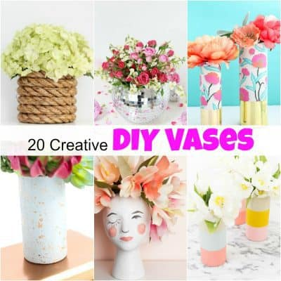 20 Creative DIY Vases You Can Make at Home