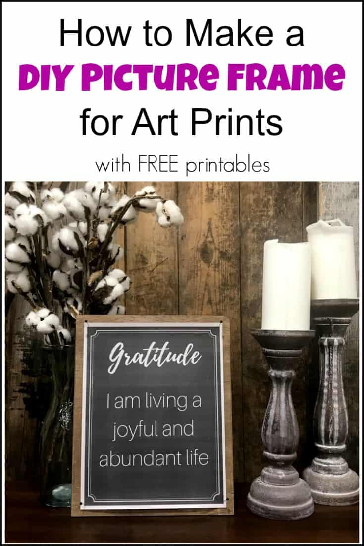diy picture frames, art prints, printables, diy frames, easy diy frames