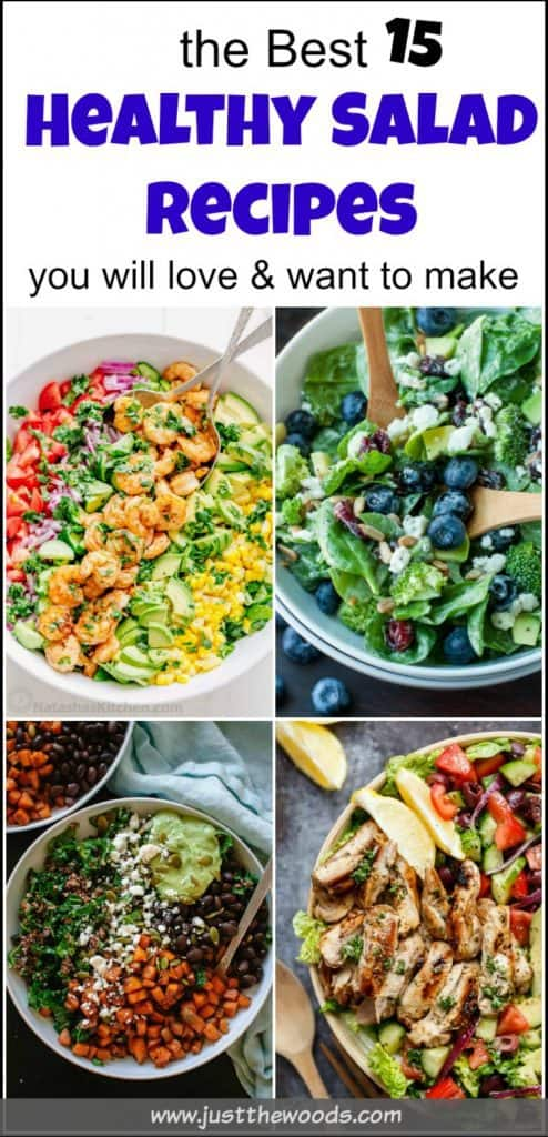 The Best Healthy Salad Recipes, easy healthy salad recipes, healthy salads