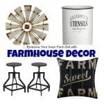 How to Embrace Your Inner Farm Girl with Farmhouse Decor