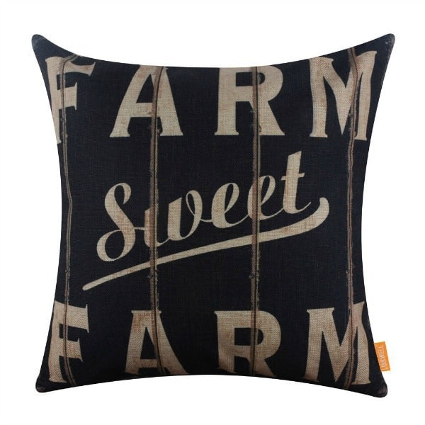 farmhouse pillow, farm pillow, burlap farmhouse pillow, farmhouse decor stores