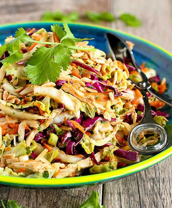 best healthy salads, thai chicken salad recipe, delicious healthy salads