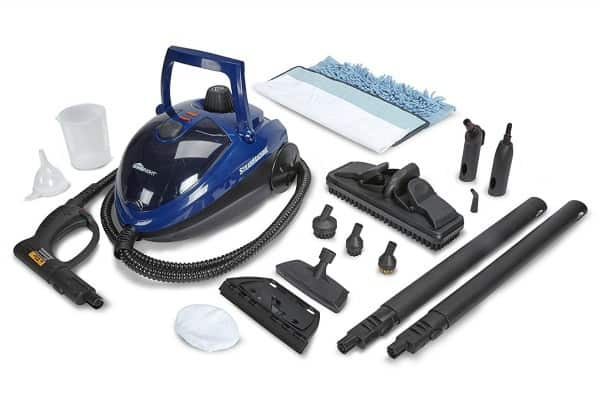 homeright steam machine, steam cleaner, clean kitchen no chemicals