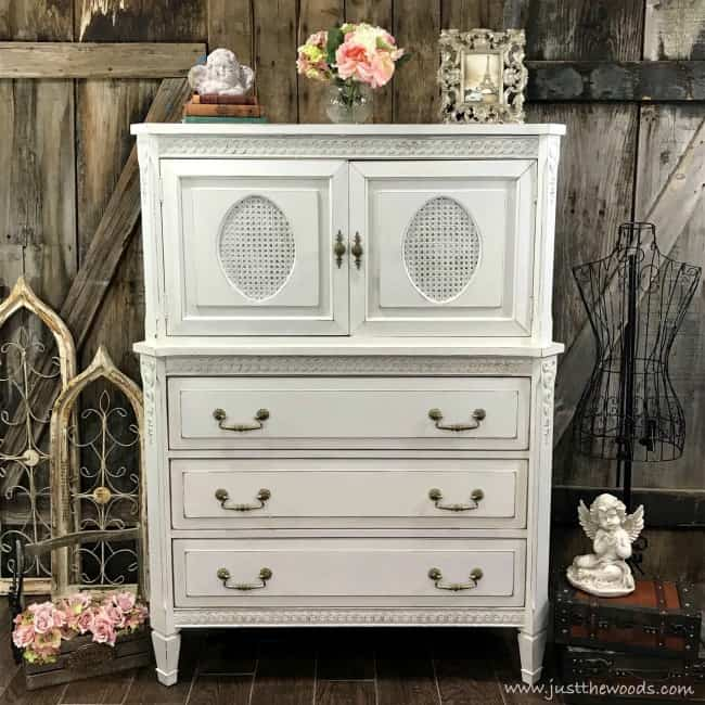 painted dresser ideas, white painted dresser, distressed white painted dresser, shabby chic painted dresser