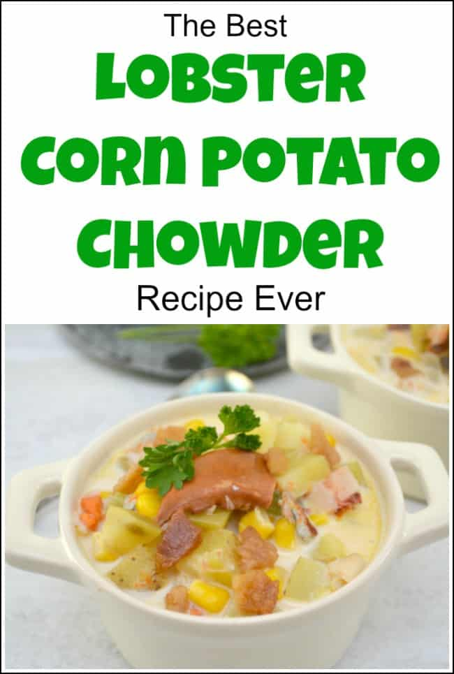 chowder recipe, corn chowder recipe, lobster chowder recipe, easy chowder recipe