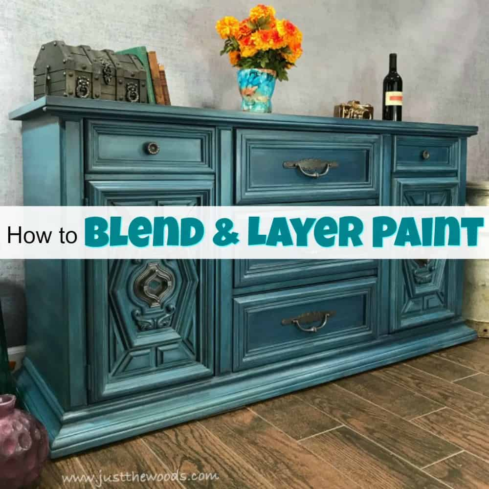 How To Blend & Layer Paint For Amazing Results On Painted