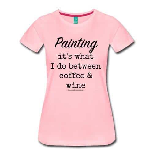 painting shirts, DIY t-shirt, paint t shirt, DIYer shirts, shirts for DIYer, DIY t shirt ideas