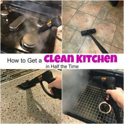 How to Get a Clean Kitchen in Half the Time