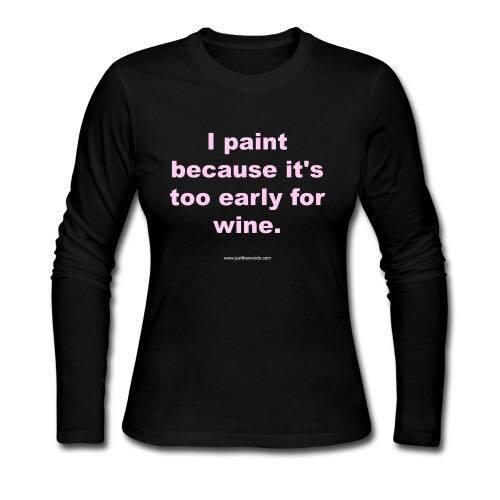 painting shirt, diy shirts, diy tshirts, diy t-shirts, wine shirts