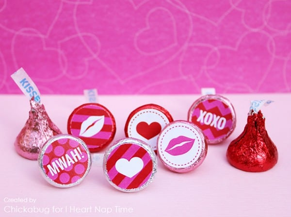 valentines day hershey kiss crafts, hershey kiss projects, valentines day craft ideas