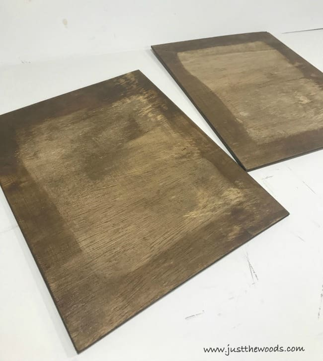 wood stain, diy picture frames, diy photo frames, homemade picture frame ideas