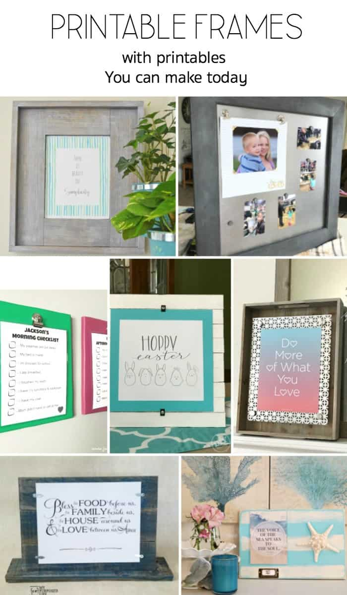 power tool challenge, printable display