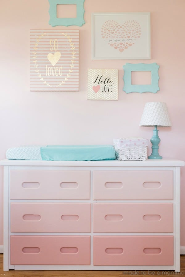 ombre painted furniture, diy home decor, diy ombre painted dresser