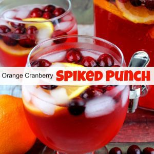 Orange Cranberry Spiked Punch Recipe